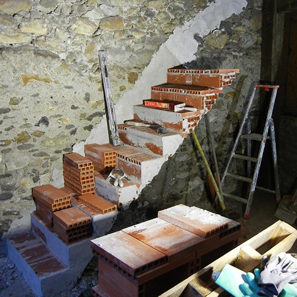 escalier sur voûte escaliéteur France