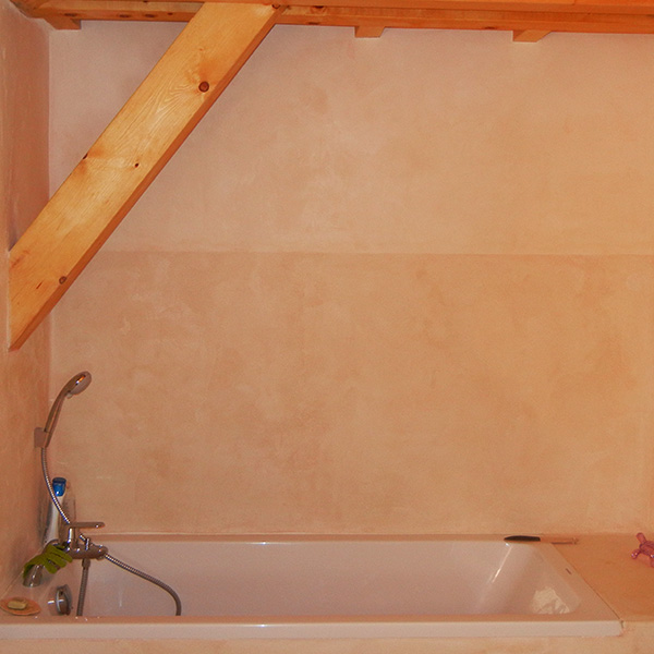 Salle d'eau Tadelakt Chartreuse Isère